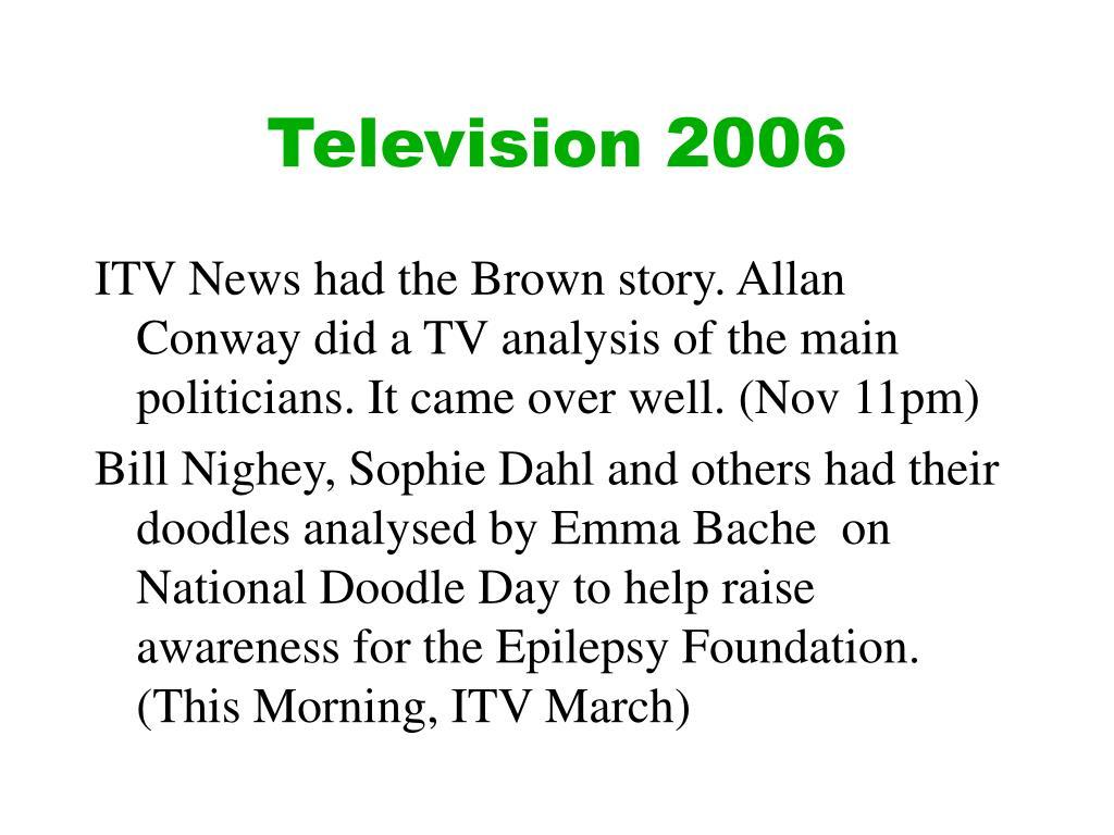 Television 2006