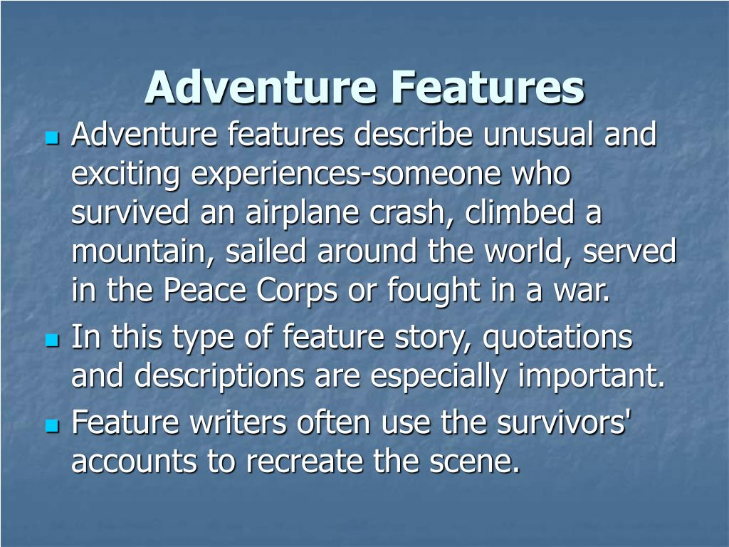 Adventure Features
