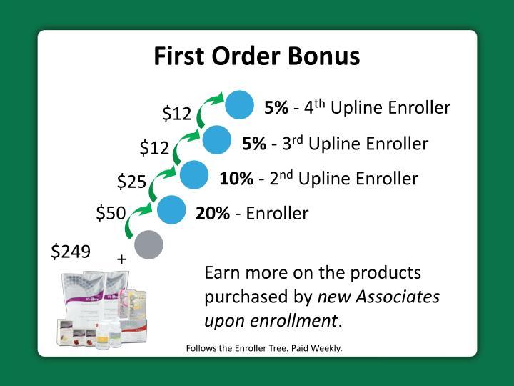 First Order Bonus