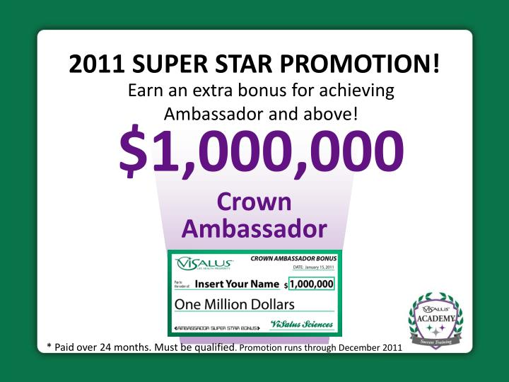 2011 SUPER STAR PROMOTION!