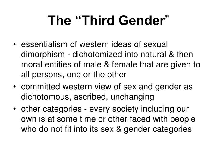 "The ""Third Gender"