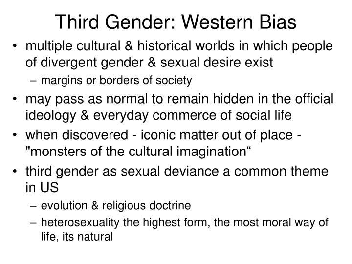 Third Gender: Western Bias