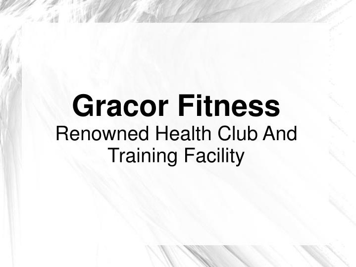 Gracor Fitness
