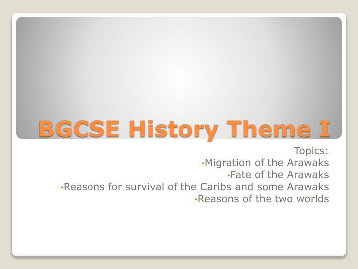 What is the meaning of BGCSE?