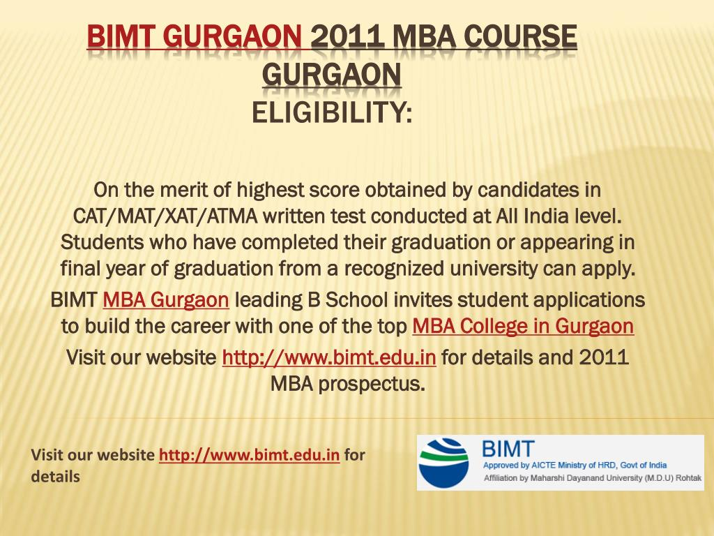 On the merit of highest score obtained by candidates in CAT/MAT/XAT/ATMA written test conducted at All India level. Students who have completed their graduation or appearing in final year of graduation from a recognized university can apply.