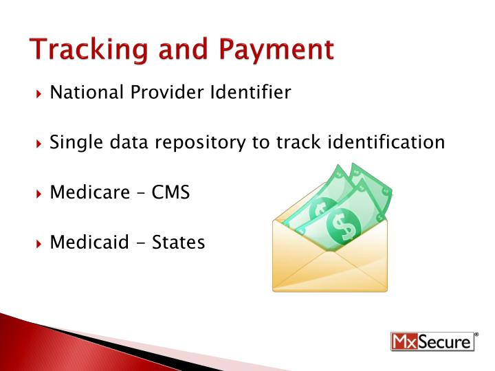 Tracking and Payment