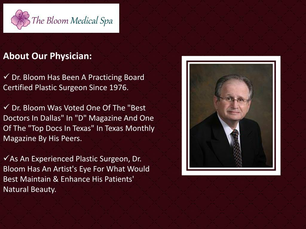 About Our Physician: