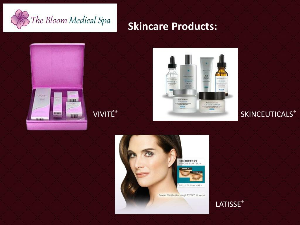 Skincare Products: