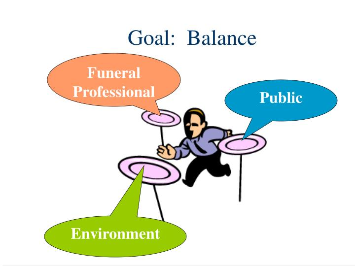 Goal:  Balance