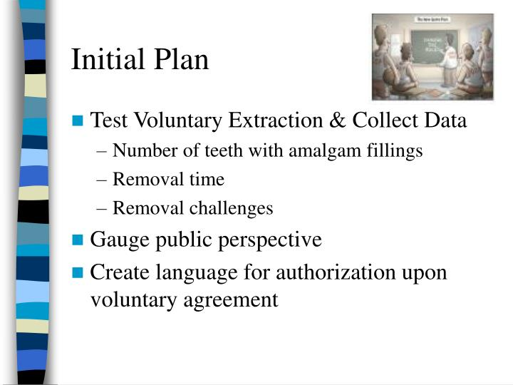 Initial Plan