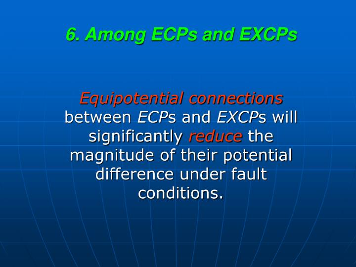 6. Among ECPs and EXCPs