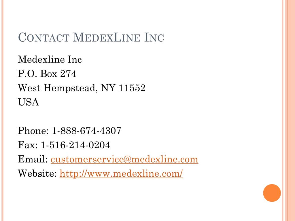 Contact MedexLine Inc