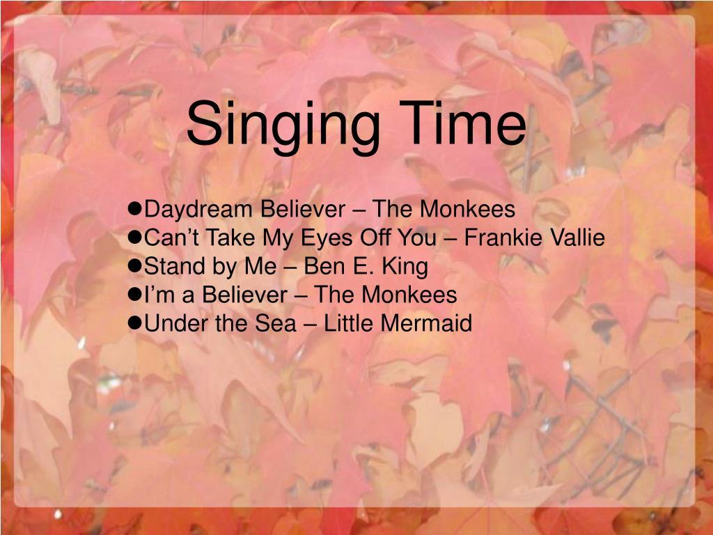 Singing Time