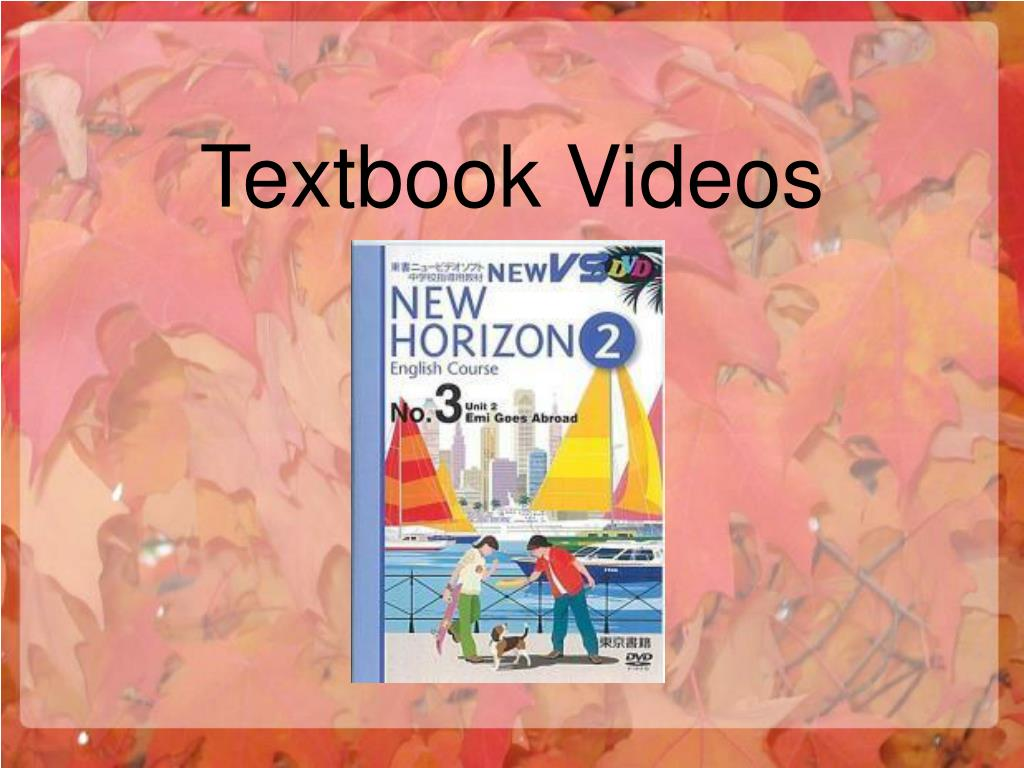 Textbook Videos