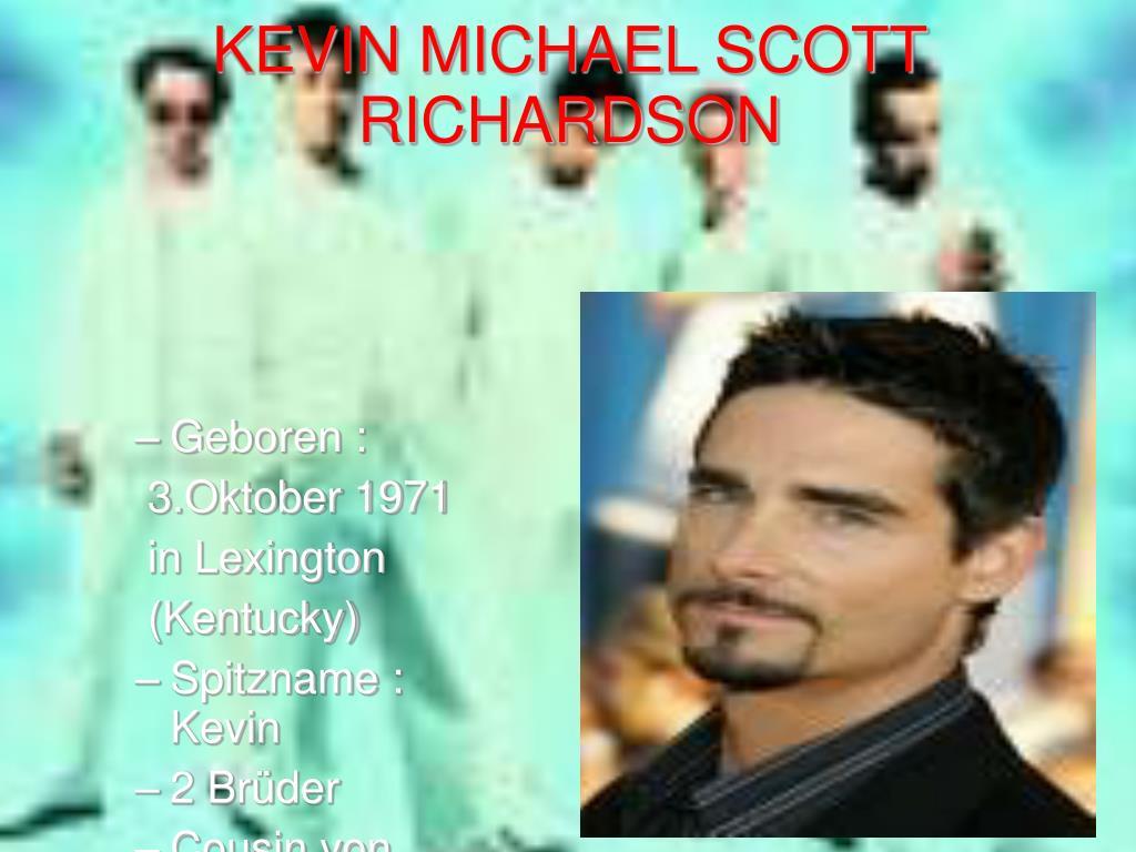 KEVIN MICHAEL SCOTT RICHARDSON