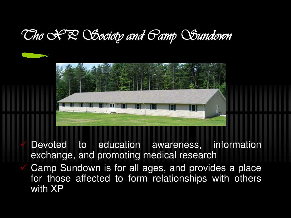 The XP Society and Camp Sundown