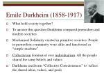emile durkheim 1858 1917