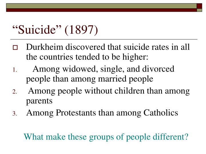 """""""Suicide"""" (1897)"""