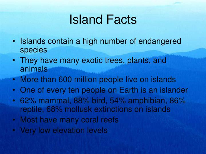 Island Facts