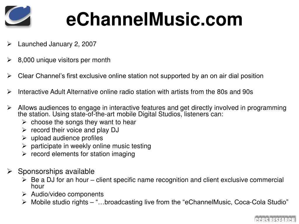 eChannelMusic.com