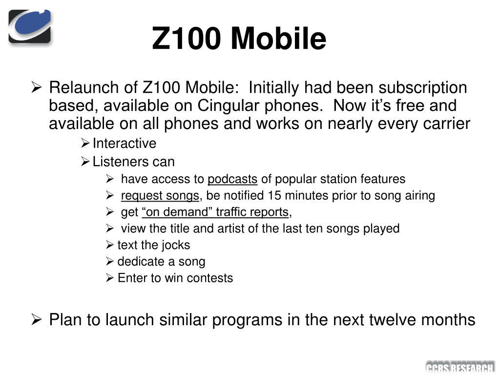 Z100 Mobile