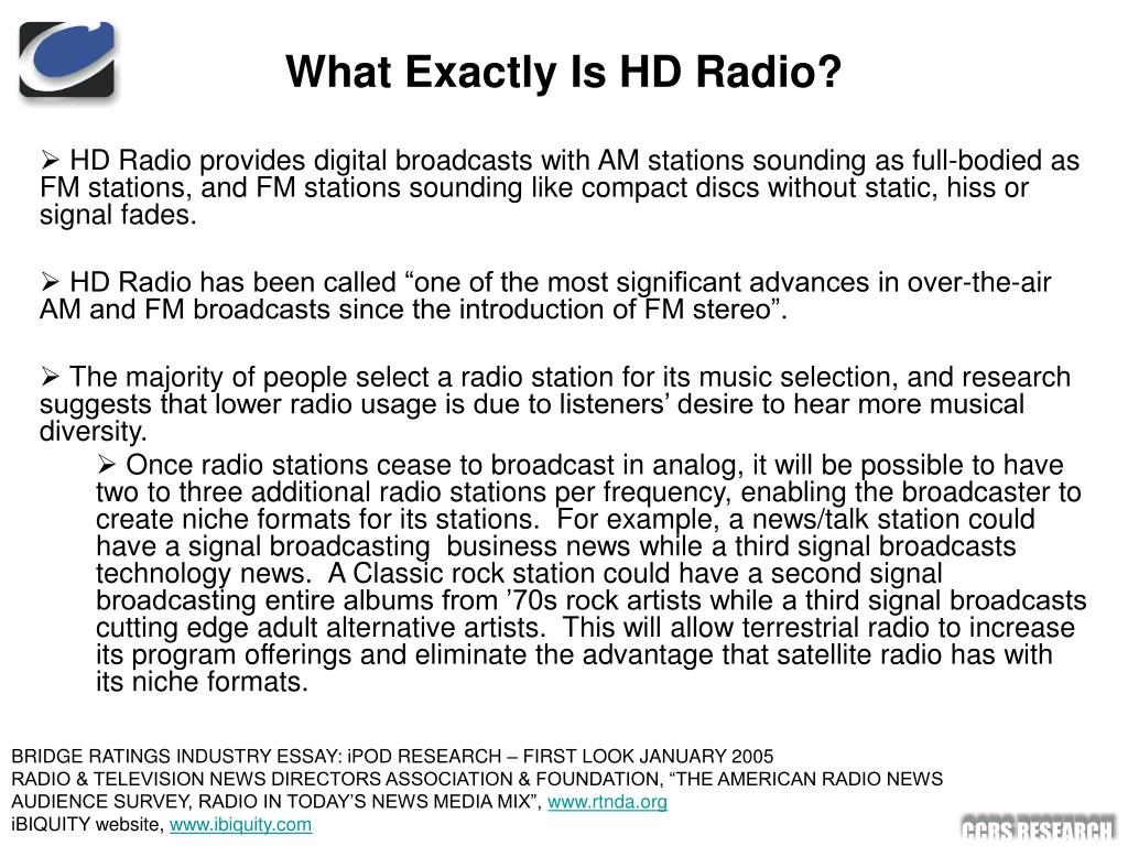 What Exactly Is HD Radio?