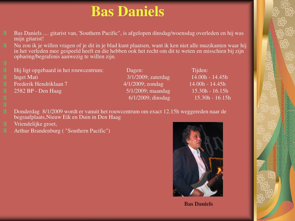 Bas Daniels