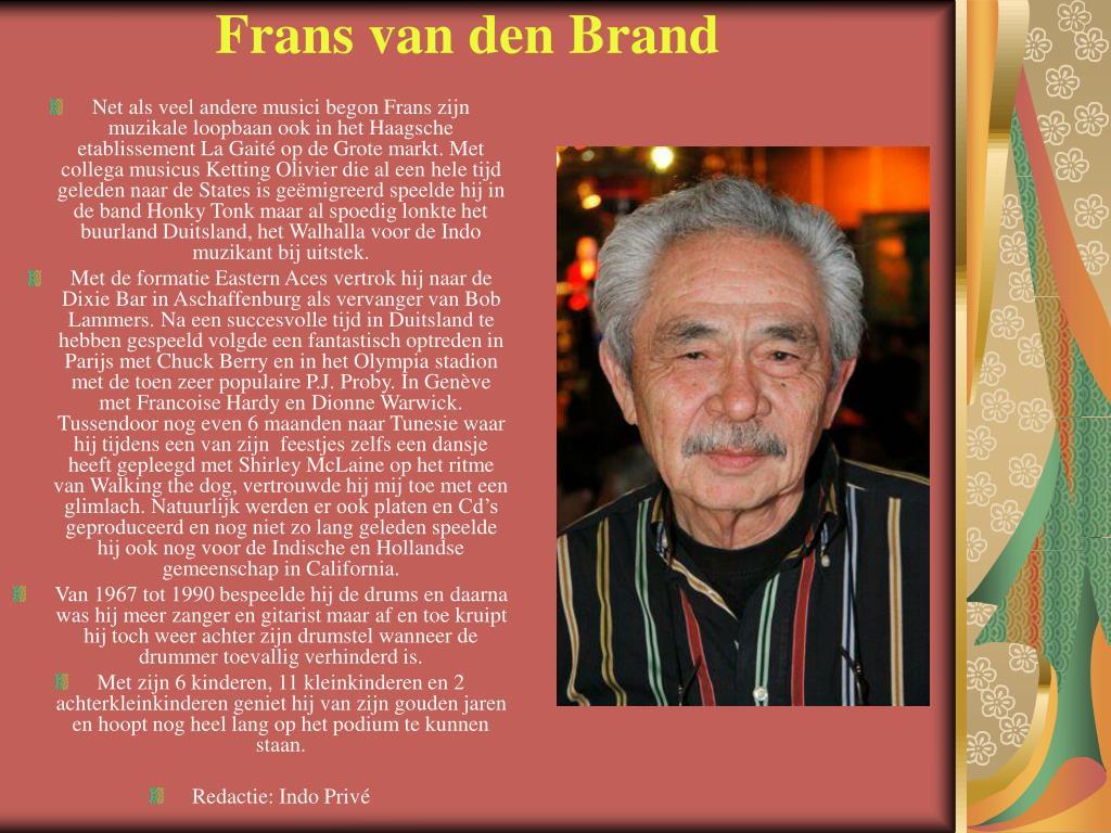 Frans van den Brand