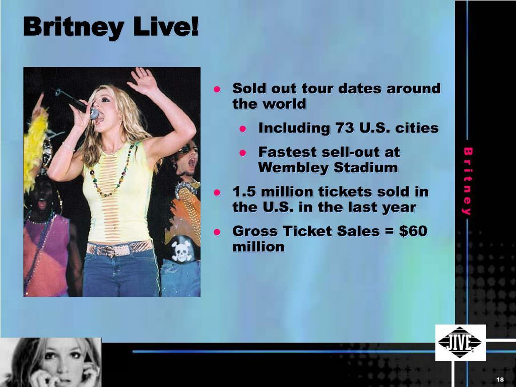 Britney Live!