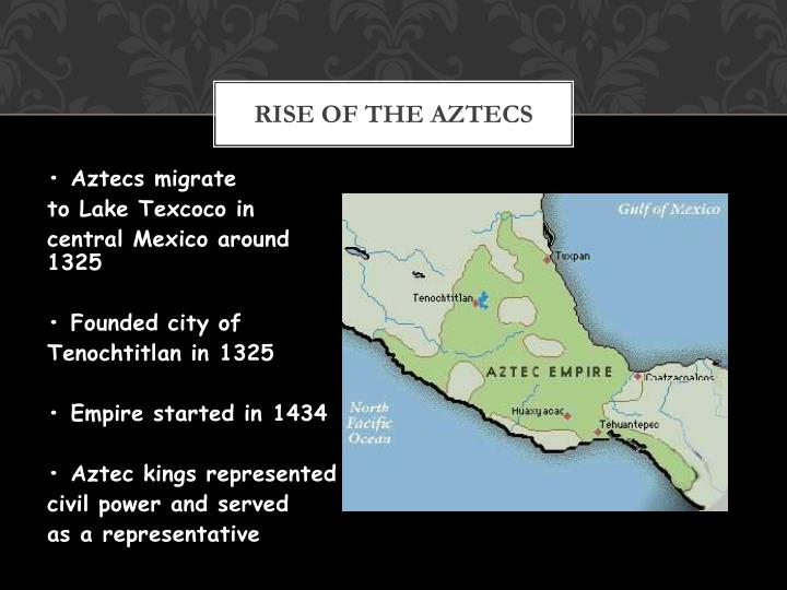how did the aztecs rise to The rise of the aztecs, part viii, chimalpopoca, the third emperor of tenochtitlan - related: the rise of the aztecs, part ix, itzcoatl, the fourth emperor of tenochtitlan the rise of the aztecs, part xi, the triple alliance the rise of the aztecs, part xii, the new emperor the rise of the aztecs part vii, nezahualcoyotl, the heir to.