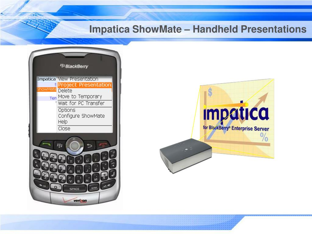 Impatica ShowMate – Handheld Presentations