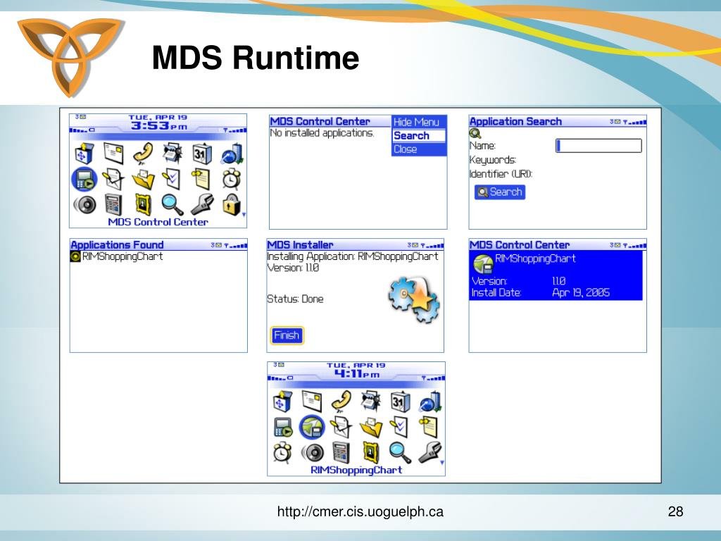 MDS Runtime