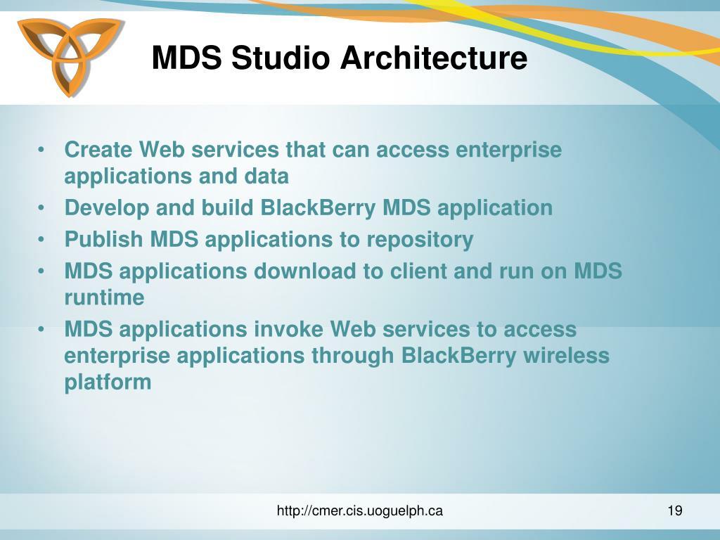 MDS Studio Architecture