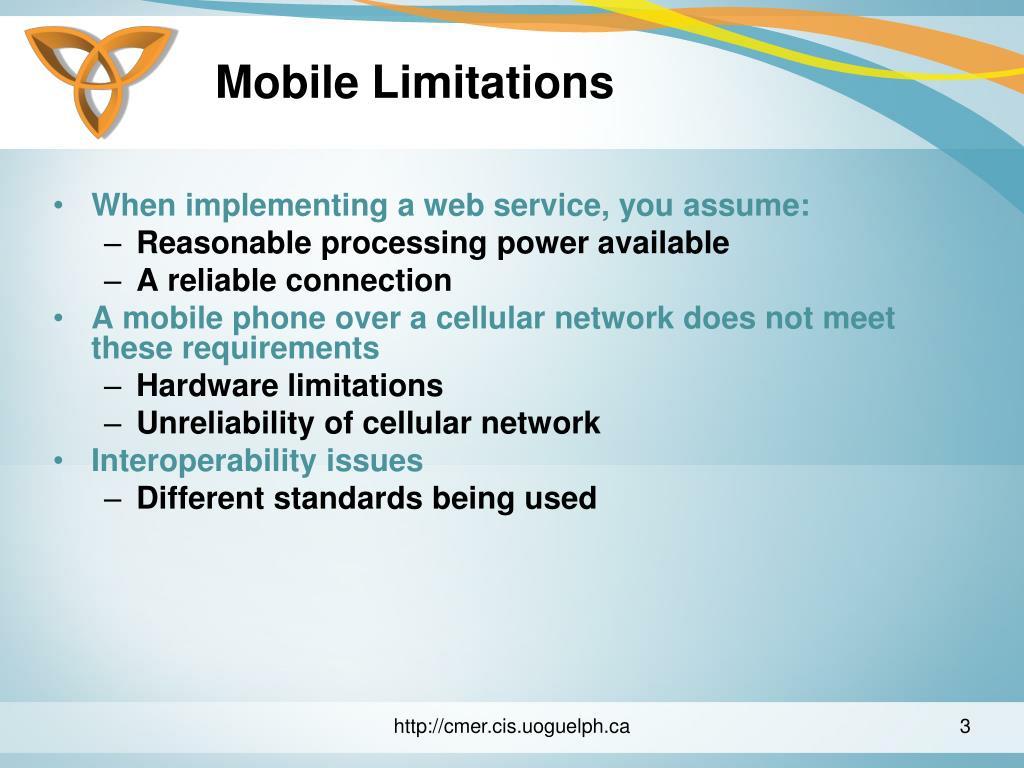 Mobile Limitations