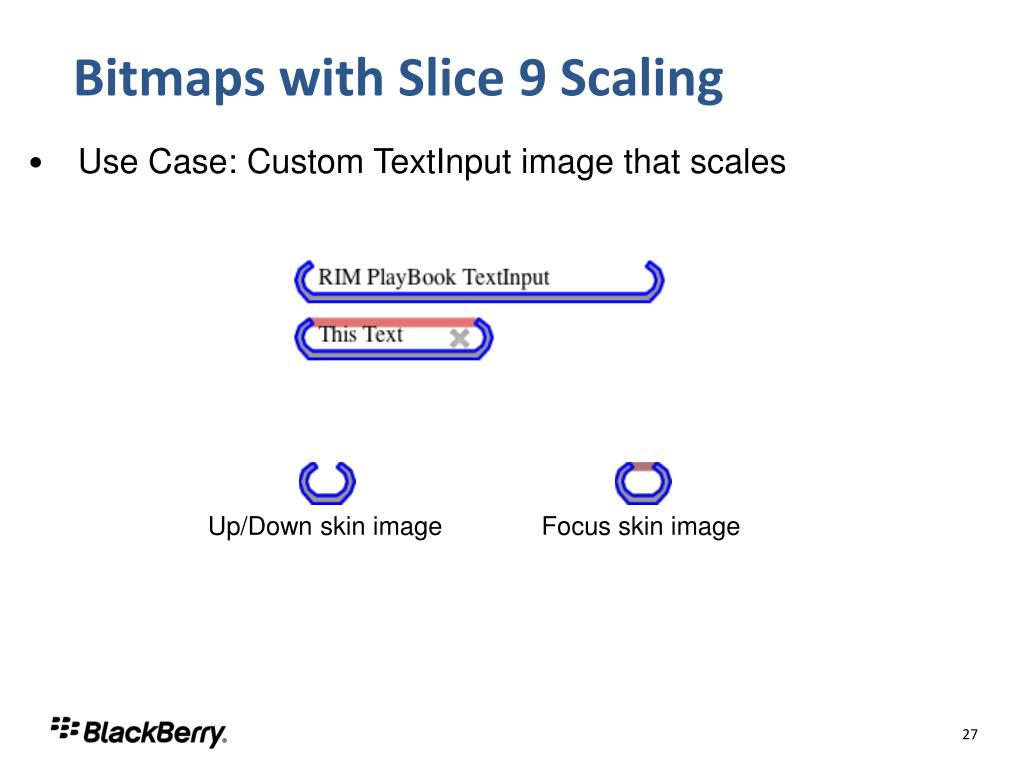 Bitmaps with Slice 9 Scaling