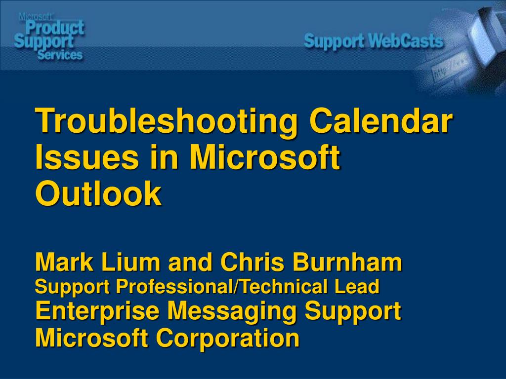Troubleshooting Calendar Issues in Microsoft Outlook