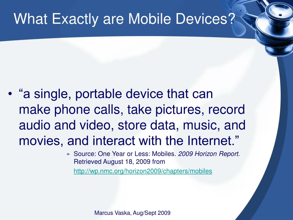 What Exactly are Mobile Devices?