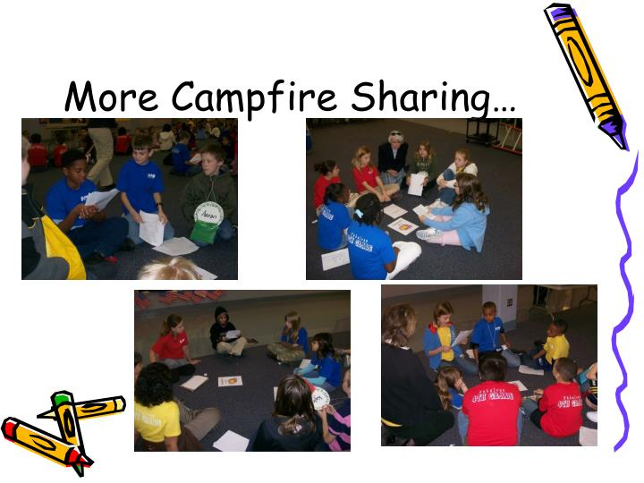 More Campfire Sharing…