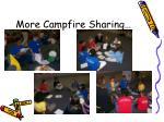 more campfire sharing