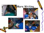 more writing