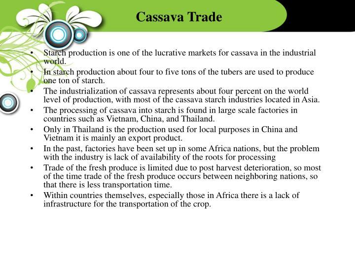 Cassava Trade