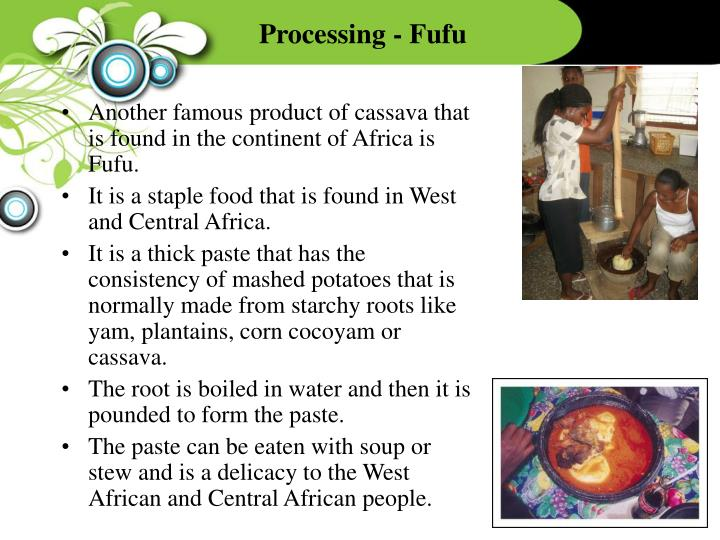 Processing - Fufu