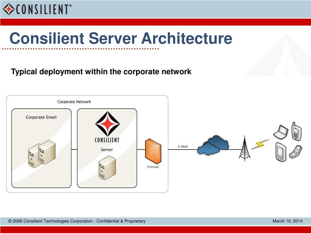 Consilient Server Architecture