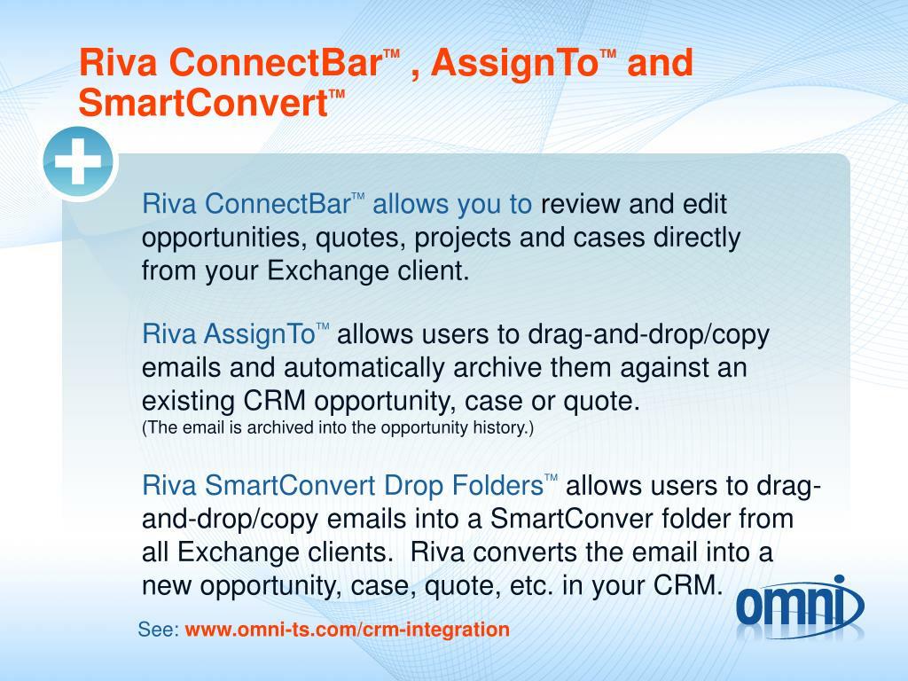 Riva ConnectBar
