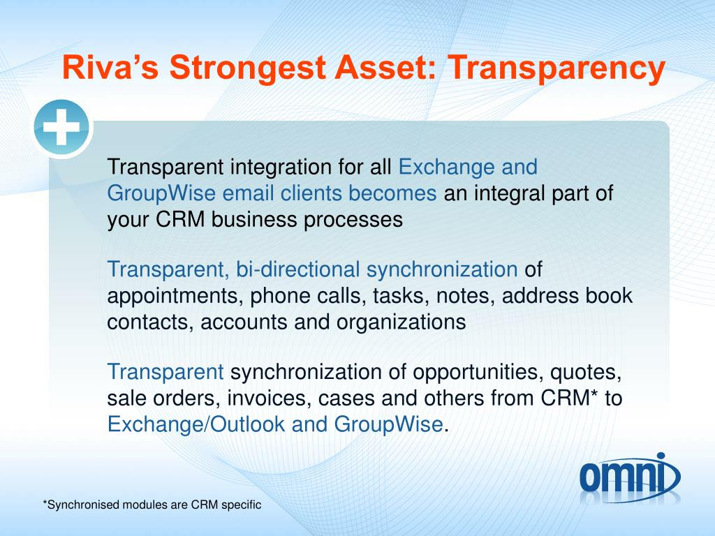 Riva's Strongest Asset: Transparency