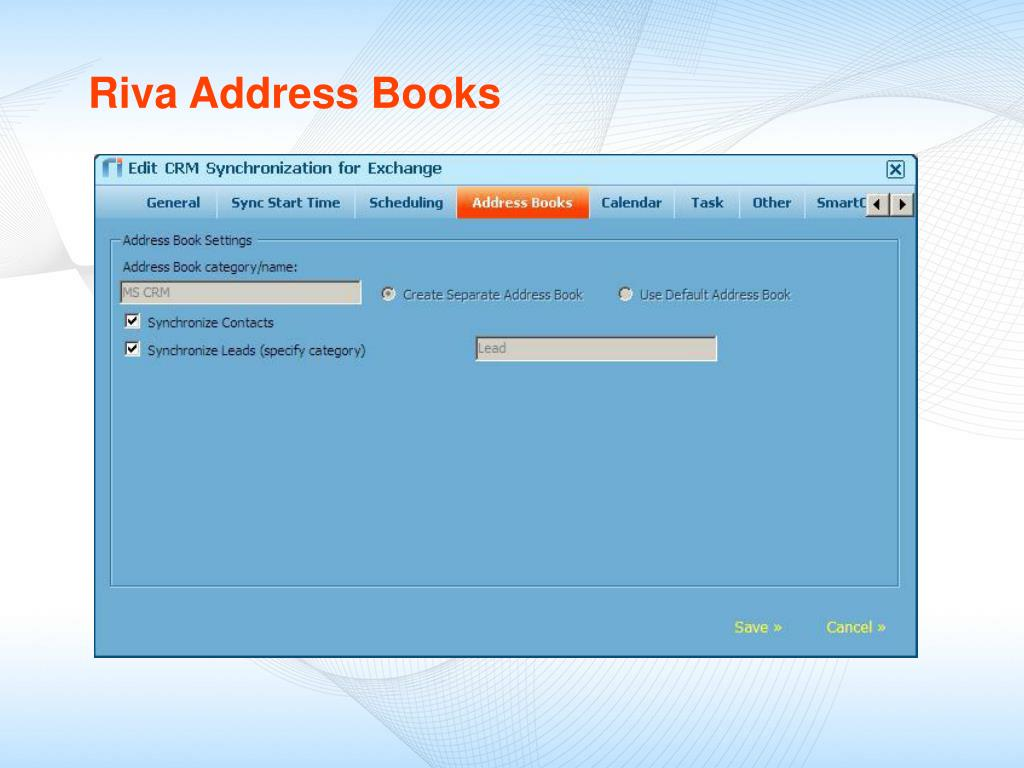 Riva Address Books