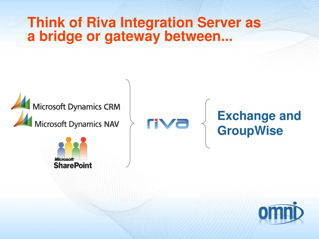 Think of Riva Integration Server as