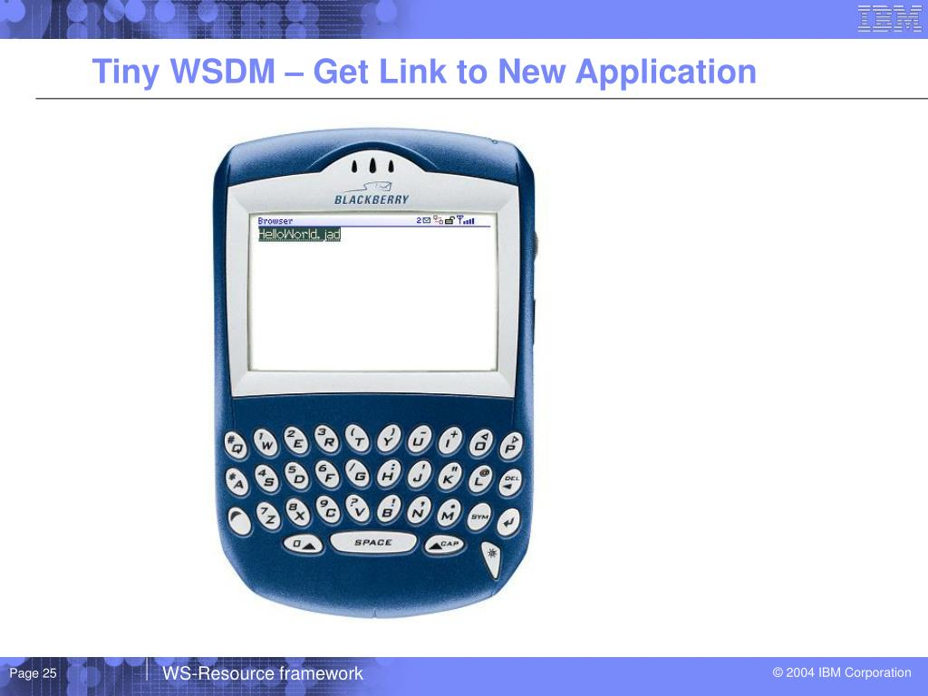 Tiny WSDM – Get Link to New Application