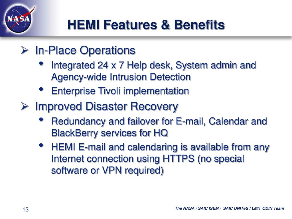 HEMI Features & Benefits