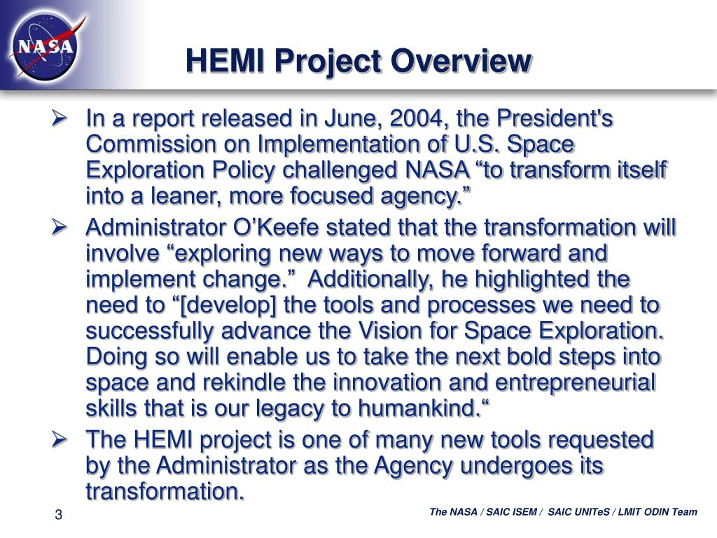 HEMI Project Overview